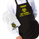 wholesale Headgear: IGGI Danger Man  Cooking Apron with Hat