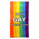 grossiste Serviettes de bain & Essuie: Seulement Gay On The Beach serviette
