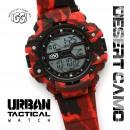Großhandel Schmuck & Uhren: IGGI Stadt  Tactical Watch - Red Desert