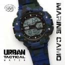 grossiste Bijoux & Montres: IGGI Urban  Tactical Watch - Bleu marine