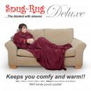 wholesale Bedlinen & Mattresses: Snug-Rug Adult  DELUXE - Mulberry Red