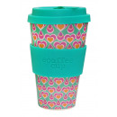 wholesale Houshold & Kitchen: Ecoffee Cup Bamboo  Cup - 400 ml Itchykoo - Green