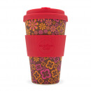 wholesale Houshold & Kitchen: Ecoffee Cup Bamboo  Cup - 400 ml Yeah Baby - Red