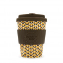 wholesale Cups & Mugs: Ecoffee Cup Bamboo  Cup - 340 ml with Threadneedle