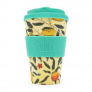 wholesale Houshold & Kitchen: Ecoffee Cup Bamboo  Cup - 400 ml WM Pomme with Tur