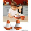 Großhandel Kindermöbel: E-my Verkehr Spy  Essen für Kinder Set - Birillo