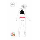 wholesale Lingerie & Underwear: Mss Joya Jewelery  String - Salmon Red with White B