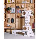 groothandel Tuin & Doe het zelf:BLOCKS Katten Speelhuis