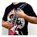 wholesale Shirts & Tops: Electronic Guitar T-Shirt - XL