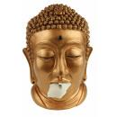 Großhandel Figuren & Skulpturen: Rotary-Held Buddha  Gewebekastenhalter - Bronze