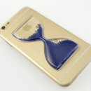Hourglass Phone Case - blue