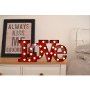 Carnevale LED lampadina LOVE - Red