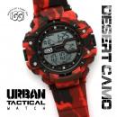 Großhandel Markenuhren: IGGI Stadt  Tactical Watch - Red Desert