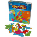 wholesale Puzzle: GeoPuzzle Europe 58 bits (FR)