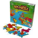 wholesale Puzzle: GeoPuzzle World 68 bits (FR)
