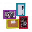 grossiste Bricoler et dessiner: Multifonctionnel  Trio cadre Fun Colours