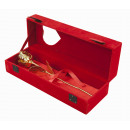 Golden Rose in velluto rosso Box