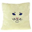 Cat Kissen - Weiß