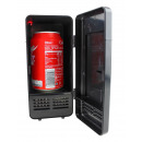 USB Desktop  Refrigerator with LED light - Black