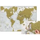 Scratch World Map (FR)