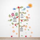 Walplus Decoration Sticker Bird Cage Tree
