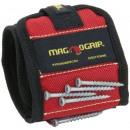 groothandel Sport- & fitnessapparaten: Magnogrip  Magnetische Polsband - Rood