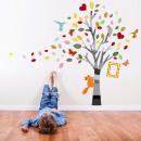 grossiste Maison et habitat:Picture Tree Colored