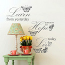 wholesale Home & Living:Learn Live Hope Quotes
