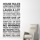 wholesale Home & Living:House Rules Quote (ENG)