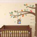 groothandel Wandtattoos: Walplus Kids  Decoratie Sticker - Groeimeter Boom m