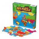 wholesale Puzzle: GeoPuzzle World 68 pieces (ENG)