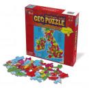 wholesale Puzzle: GeoPuzzle United  Kingdom / Ireland 97 pieces (ENG)