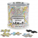 Copenhagen City Puzzle Magnets