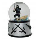 grossiste Boules de neige:Snow Globe Ninja sonore
