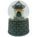 grossiste Boules de neige: Snow Globe Bell Temple avec le son