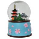grossiste Boules de neige:Snow Globe Kyoto sonore