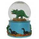 grossiste Boules de neige:Snow Globe Dino sonore
