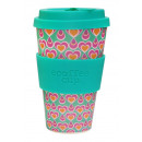 Ecoffee Cup Bamboo  Cup - 400 ml Itchykoo - Green