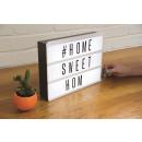 groothandel Verlichting: Fizz Creations  Lichtbox Message Board met LED Verl