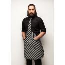 grossiste Chemises et chemisiers: Tie & Tie Tablier chef noir et gris tigré