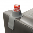 Großhandel Möbel: Couch Coaster - Steel Grey