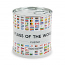 Flags of the World Puzzle City Magnets