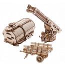 grossiste Articles Cadeaux: Ugears en bois  Model - Set Extension pour Tru