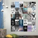 Walplus Sticker décoration Wall Sticker - Cotes et