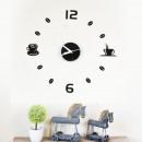 hurtownia Artykuly spozywcze & uzywki: Walplus akrylowa DIY kawy Zegar ścienny - 43cm