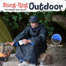wholesale Bedlinen & Mattresses: Snug-Rug Outdoor Blanket with Hat - Blue