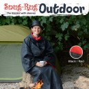 wholesale Bedlinen & Mattresses: Snug-Rug Outdoor Blanket with Hat - Red
