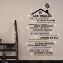groothandel Wandtattoos: Walplus Home  Decoratie Sticker - Huis Regels Quote