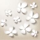 grossiste Stickers mureaux: Autocollant  Décoration Walplus Fleurs de cristal 3