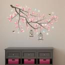 grossiste Stickers mureaux: Sticker Décoration  Walplus Cristal Cherry Blossom